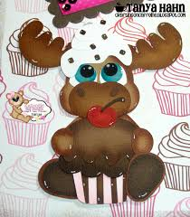 Chocolate Accents by Crafting On Caffeine Chocolate Cupcake Lo