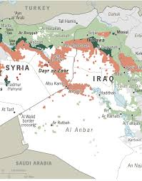 Iraq Syria Map by Isil Have Not Only Lost Territory In Mosul They Are Losing It