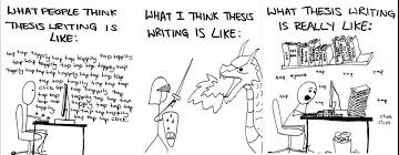 Thesis writing design