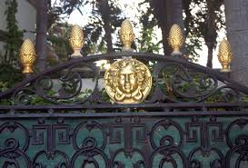 versace mansion gate all things versace pinterest versace