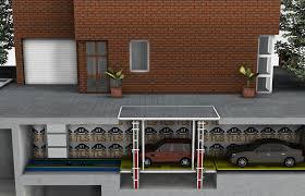 basement entry garage house plans