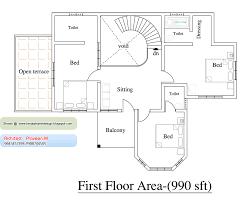 1000 square feet house plan kerala model homes zone