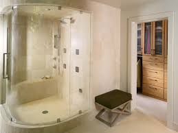 Walk In Shower Ideas For Small Bathrooms Bathroom Lovely Modern Corner Walk In Shower Room Ideas Plus