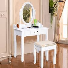 White Shabby Chic Dressing Table by Shabby Chic Dressing Table Mirror Vanity Makeup Drawer Stool Desk