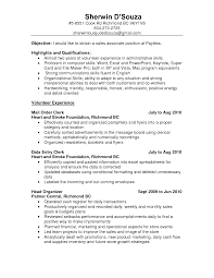 Objective For Sales Resume  example second page resume format
