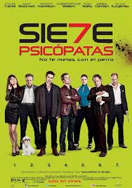 Siete psicópatas (2013) [Vose]