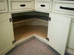 Kitchen Corner Cabinet Storage Ideas Corner Cabinet Storage - Corner kitchen base cabinet