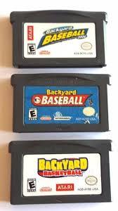 Original Backyard Baseball by 920 Best Gameboy Advance Games Images On Pinterest Consoles