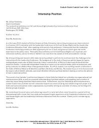 Graduate Student Cover Letter Collection