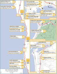 Fort Stevens State Park Map by The Southern Oregon Coastline Offers Some Of The Best Hiking And