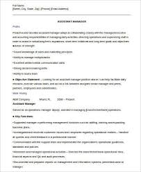 Assistant Property Manager Resume Sample assistant manager resumes assistant manager sample 54 manager