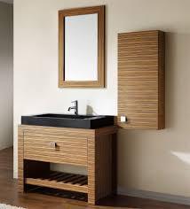 Interesting Large Black Vessel Sink On Funky Bathroom Vanity Feat - Black bathroom vanity with vessel sink