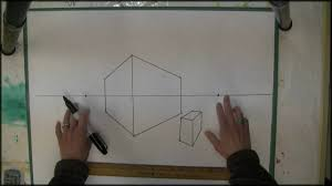 How To Draw A Floor Plan For A House 2 Point Perspective Drawing Start Here Youtube