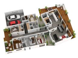 exclusive floor plans with double garage and four bedroom also