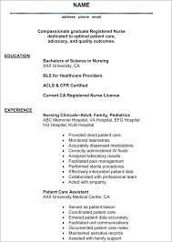 New Nurse Resume Sample Cover Letter Nurse Pta Cover Letters     Brefash