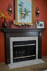 diy fireplace surround transformation replacing out of date