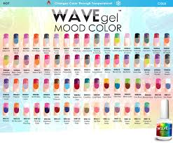 wavegel mood temperature change wave gel nail polish more 66