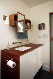 Hanging Bathroom Vanities by Bathroom Modish Hanging Ikea Bathroom Vanity With Mounted Toilet