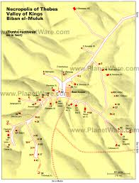 Map Egypt Valley Of The Kings Map Of Discovered Tombs Of Ancient Egypt