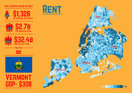 New York State Map by 16 Maps That U0027ll Change How You See New York City Huffpost
