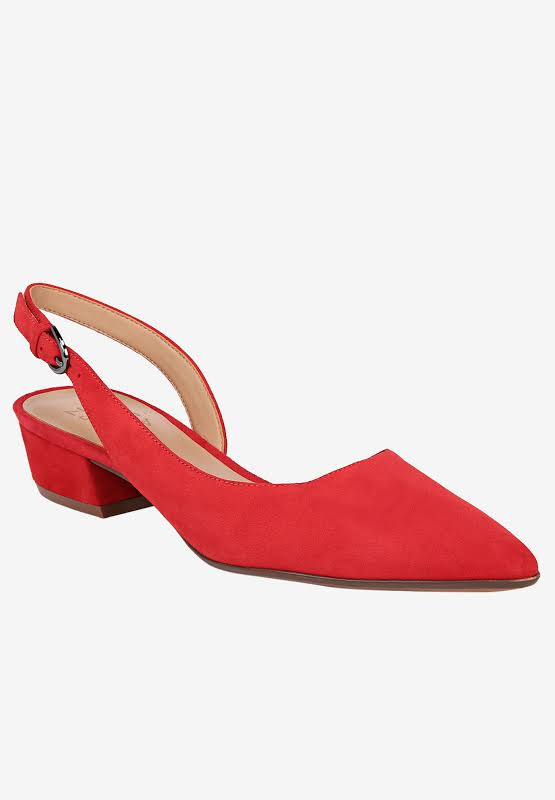 Naturalizer Banks Dress Shoes Red- Womens