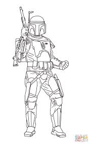 jango fett coloring page free printable coloring pages