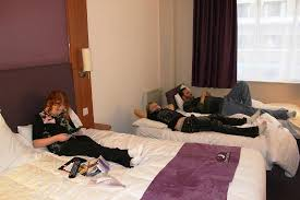 Me Sleeping Picture Of Premier Inn London County Hall Hotel - Family room hotels london