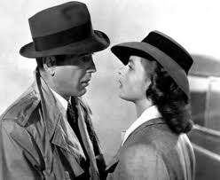 Humphrey Bogart and Ingrid Bergman in Casablanca, 1942