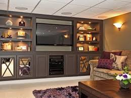 wall units interesting cost of built in entertainment center