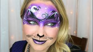 Halloween Kids Witch Makeup by Midnight Kitty Halloween Mask Face Painting And Makeup Youtube