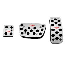 lexus rx270 accessories 3pcs set car styling mt accelerator brake treadle foot rest pedal