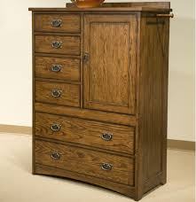 Bedroom Furniture New York by Intercon Oak Park Solid Oak Mission Chest With 6 Drawers With