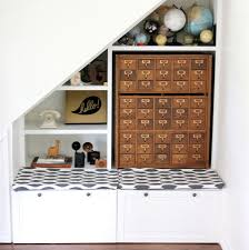 Reading Nook Furniture by Reading Nook Under Stairs With Drawer And Furniture Storage Ideas