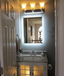 Bathroom Cabinet With Mirror And Light by Wall Mounted Lighted Vanity Make Up Mirror