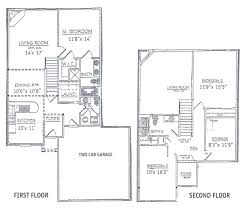 28 simple 2 story 3 bedroom house plans in cad 654028 two