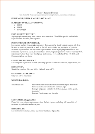resume format samples download employment verification letter sample best business template 4 employment history resume resume writing guide how to make an sample employment resume