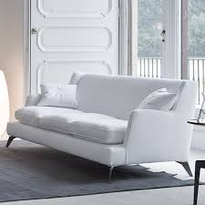 Low Back Sofa by Contemporary Furniture From Belvisi Furniture Cambridge