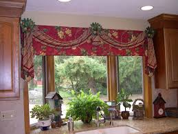 Tuscan Style Kitchen Curtains by Charming Waverly Kitchen Curtains And Valance 129 Waverly Kitchen