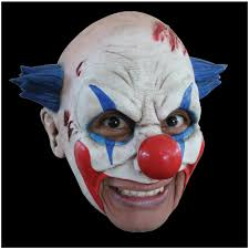 sinister killer clown mask mad about horror
