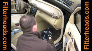 cabin air filter replacement mercedes benz c320 under glovebox