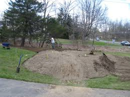 Berm Homes by Landscaping Creating A Berm Berms Are Good For Recycling
