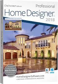 amazon com chief architect home designer pro 2018 dvd