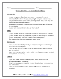 causes and effects essay example