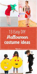 13 easy diy halloween costume ideas tip junkie