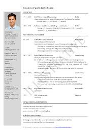 Resume Samples For Engineering Students     BNZY