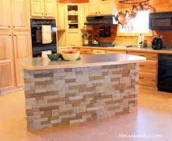 Cooking Islands For Kitchens Air Stone Walls Air Stone Kitchen Island Kitchen Ideas