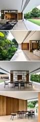 this singaporean house completely opens up to the backyard