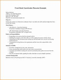 Sample Of Receptionist Resume by 8 Front Desk Receptionist Resume Samples Invoice Template Download