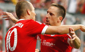 Bayern Munich Nuremberg vidéo but Ribery (4-0)