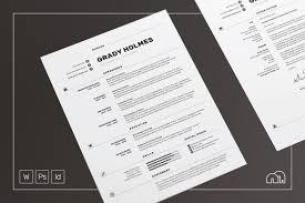 resume paper white or ivory resume cv grady resume templates on creative market